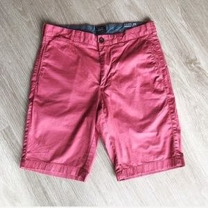 J. Crew 10.5″ Stretch Chino Shorts Pink Size 29